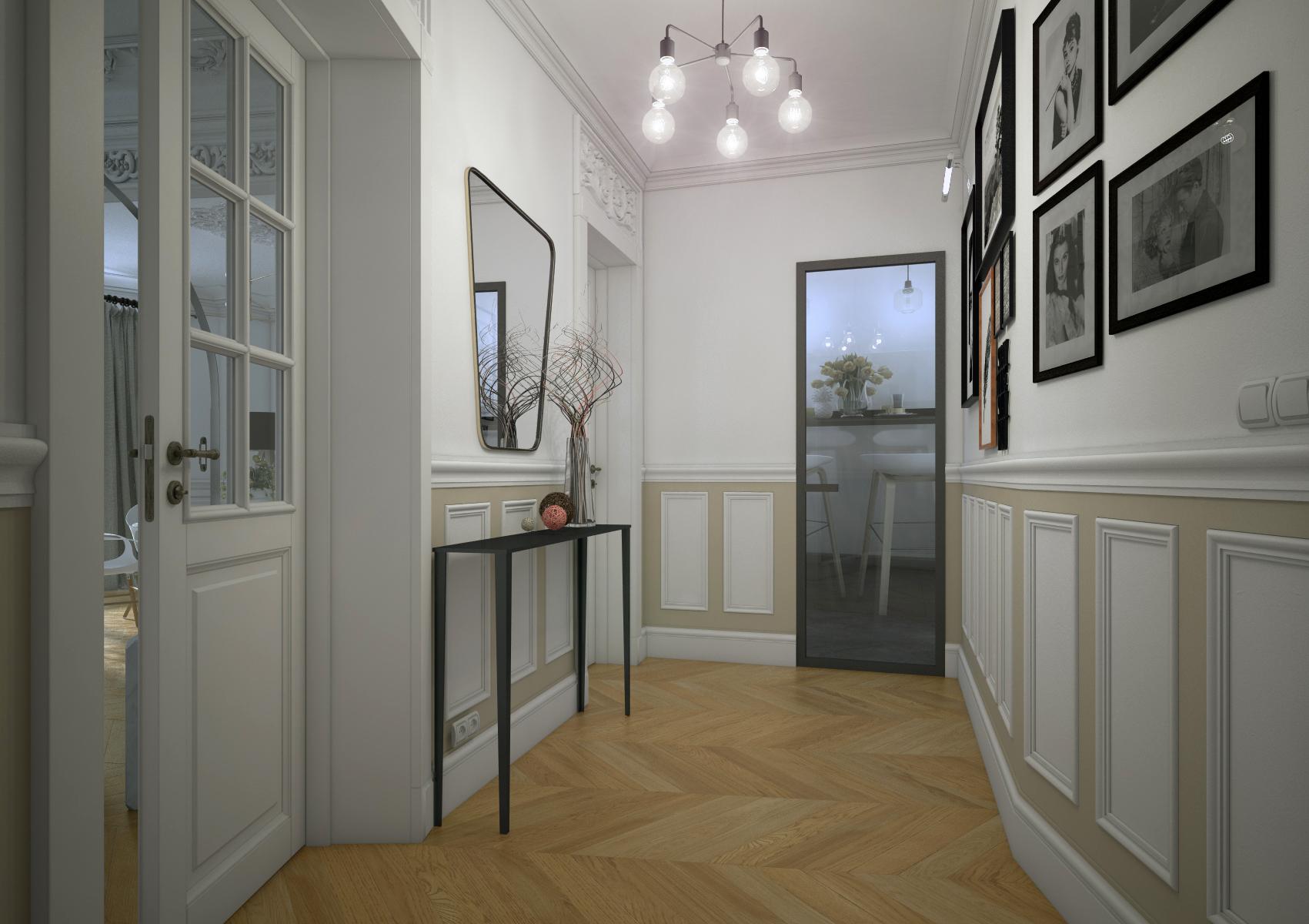 Appartement haussmannien square clignancourt karine Formation decoration interieur paris
